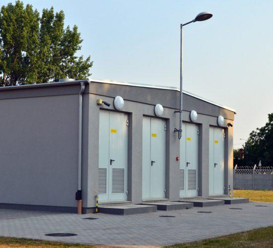 Budynki techniczne stacji elektroenergetycznych