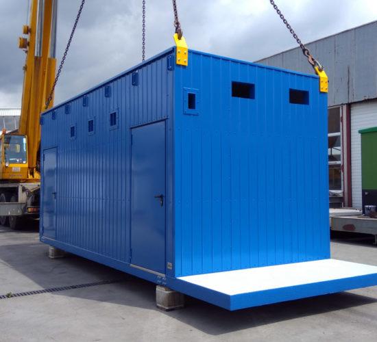 Kontenery aparatury analitycznej dla terminala LNG